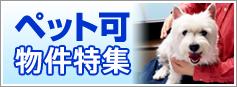 ペット可物件特集【綾瀬の賃貸】